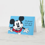 Mickey Mouse | Always Look Up To You Card