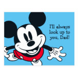 Mickey Mouse | Always Look Up To You Postcard