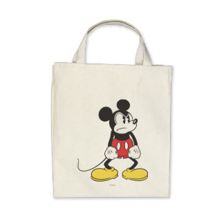 Mickey Mouse Angry Tote Bag