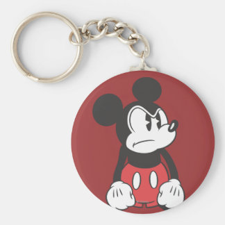Mickey Mouse Angry Keychain