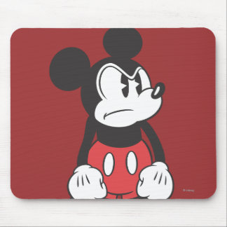 Mickey Mouse Angry Mouse Pad