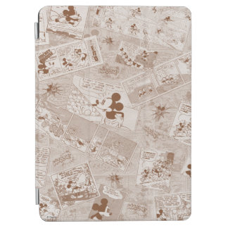Mickey Mouse | Antique Mickey Comic Pattern iPad Air Cover