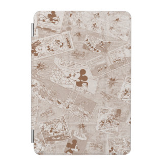 Mickey Mouse | Antique Mickey Comic Pattern iPad Mini Cover