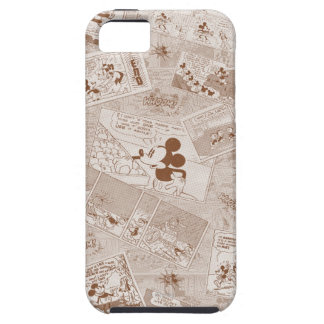 Mickey Mouse | Antique Mickey Comic Pattern iPhone SE/5/5s Case