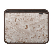 Mickey Mouse | Antique Mickey Comic Pattern MacBook Air Sleeve