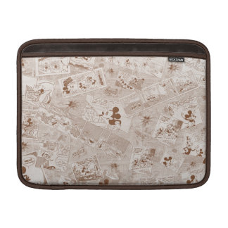 Mickey Mouse   Antique Mickey Comic Pattern MacBook Air Sleeve