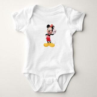 Mickey Mouse aumentó el dedo índice con el pájaro Camisetas