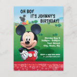 "Mickey Mouse Birthday Invitation<br><div class=""desc"">Mickey Mouse</div>"