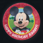 "Mickey Mouse Birthday Paper Plate<br><div class=""desc"">Mickey Mouse Birthday</div>"