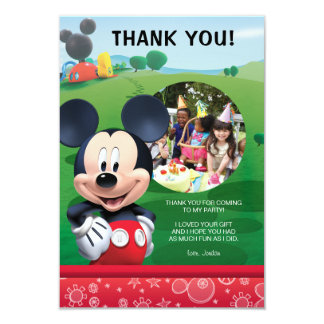 Mickey Mouse Invitations Announcements Zazzle
