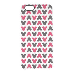 Uncommon iPhone 6 Clearly™ Deflector Case with Mickey Mouse Patterns design