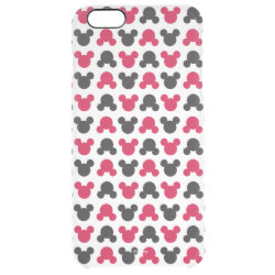 Uncommon iPhone 6 Plus Clearly™ Deflector Case with Mickey Mouse Patterns design