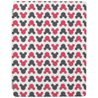 Mickey Mouse | Black and Red Pattern iPad Smart Cover