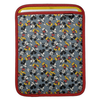 Mickey Mouse Blue Pattern iPad Sleeves