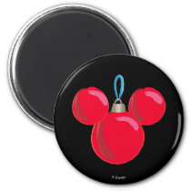 Mickey Mouse Christmas Ornament Magnet