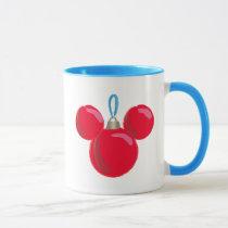 Mickey Mouse Christmas Ornament Mug