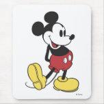 Mickey Mouse clásico Alfombrilla De Ratón