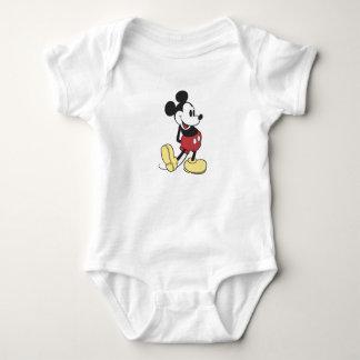 Mickey Mouse clásico Body Para Bebé