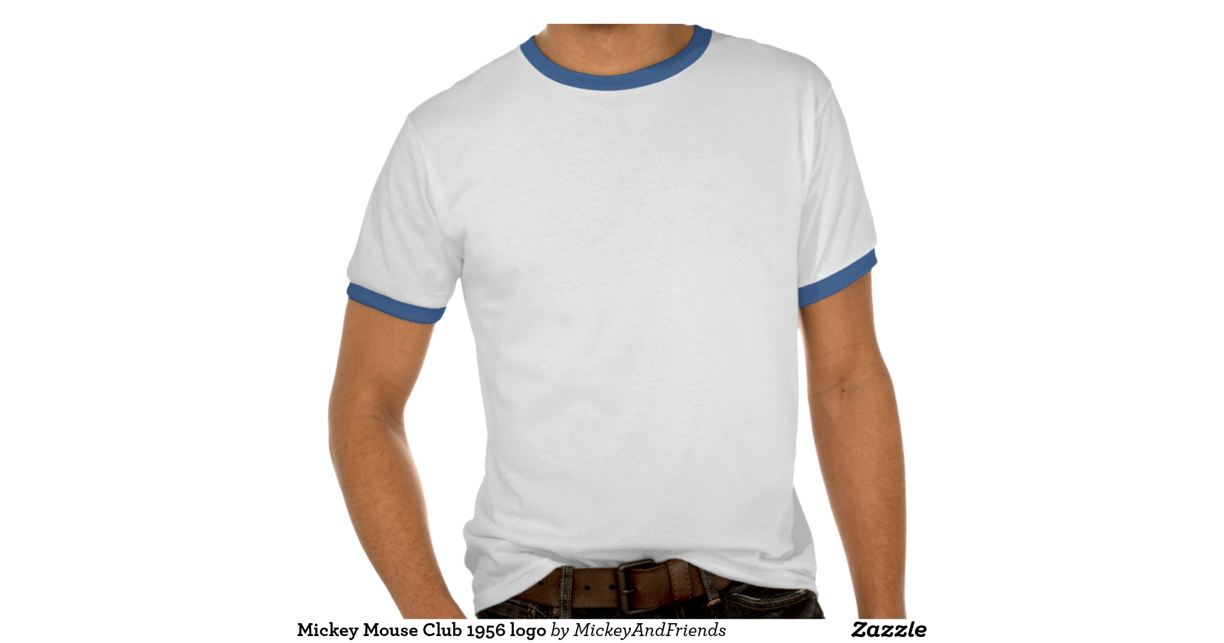 mickey mouse club 1956 logo tee shirts zazzle. Black Bedroom Furniture Sets. Home Design Ideas