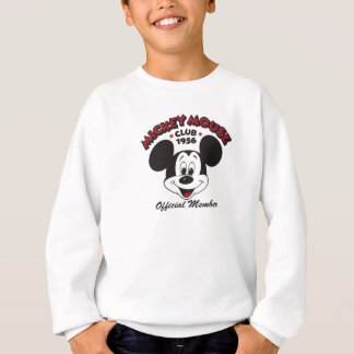 Mickey Mouse Club 1956 Official Member Sweatshirt