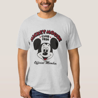 Mickey Mouse Club 1956 Official Member T-Shirt