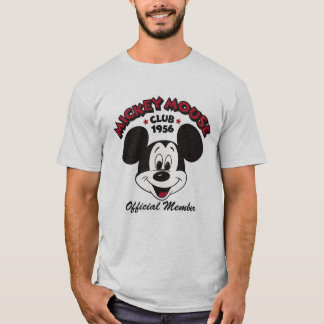mickey mouse club 1956 official member t shirt. Black Bedroom Furniture Sets. Home Design Ideas