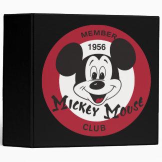 Mickey Mouse Club Binders