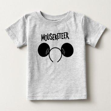 Disney Themed Mickey Mouse Club Ears Baby T-Shirt