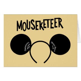 Mickey Mouse Club Ears Card