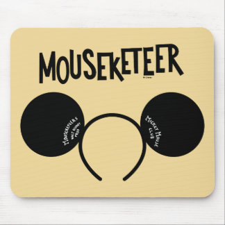 Mickey Mouse Club Ears Mouse Pad