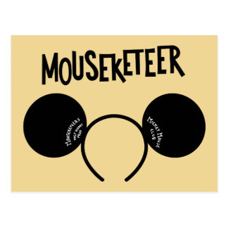 Mickey Mouse Club Ears Postcard