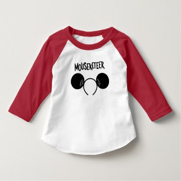 Disney Themed Mickey Mouse Club Ears T-Shirt