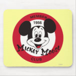 Mickey Mouse Club Emblem Mouse Pads