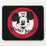 Mickey Mouse Club Emblem Mousepads