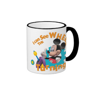 Mickey Mouse Club House Mickey  Logo Ringer Coffee Mug