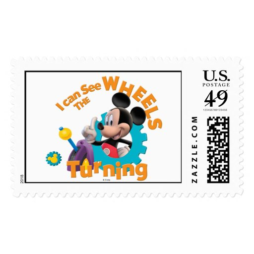 Mickey Mouse Club House Mickey  Logo Stamps