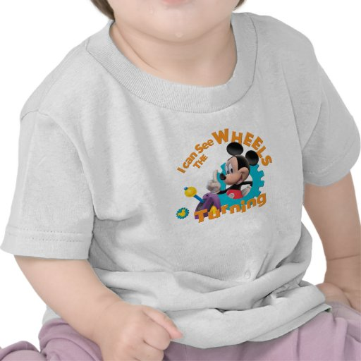 Mickey Mouse Club House Mickey  Logo Tshirt