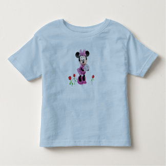 Mickey Mouse Club House's Minnie with tulips Tee Shirt