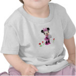 Mickey Mouse Club House's Minnie with tulips T Shirts