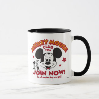 "Mickey Mouse Club ""Join Now"" Mug"