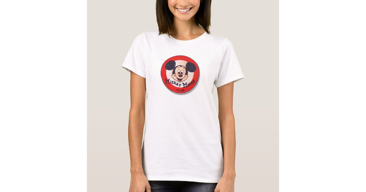 mickey mouse club t shirt zazzle. Black Bedroom Furniture Sets. Home Design Ideas