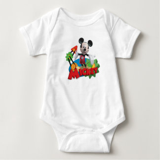 Mickey Mouse Clubhouse   Arms Out Baby Bodysuit