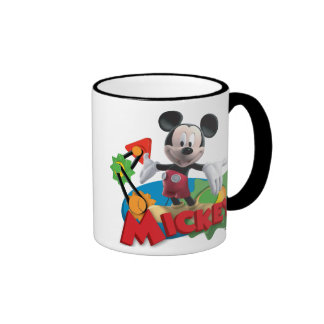 Mickey Mouse Clubhouse | Arms Out Ringer Mug