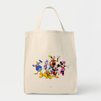 Mickey Mouse Clubhouse Grocery Tote Bag