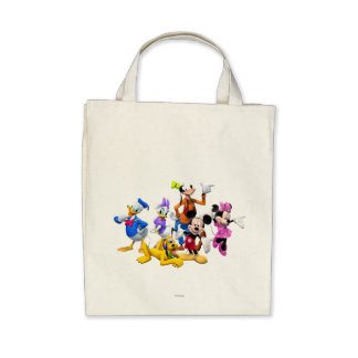 Mickey Mouse Clubhouse Canvas Bags