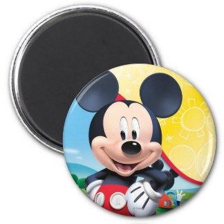 Mickey Mouse Clubhouse | Playhouse 2 Inch Round Magnet