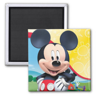 Mickey Mouse Clubhouse | Playhouse 2 Inch Square Magnet