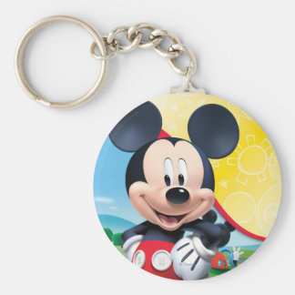 Mickey Mouse Clubhouse | Playhouse Basic Round Button Keychain