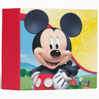Mickey Mouse Clubhouse | Playhouse Binder
