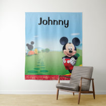 Mickey Mouse Clubhouse | Playhouse - Name Tapestry
